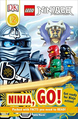 DK Readers L2: Lego(r) Ninjago: Ninja, Go! By DK