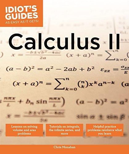Calculus II By Chris Monahan