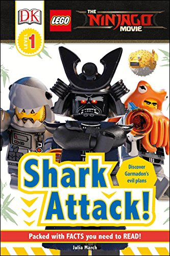 DK Readers L1: The Lego(r) Ninjago(r) Movie: Shark Attack! von DK