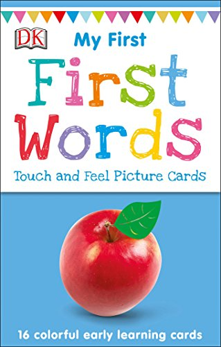 My First Touch and Feel Picture Cards: First Words von DK