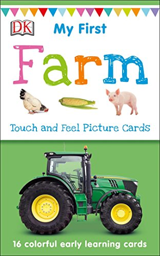 My First Touch and Feel Picture Cards: Farm von DK