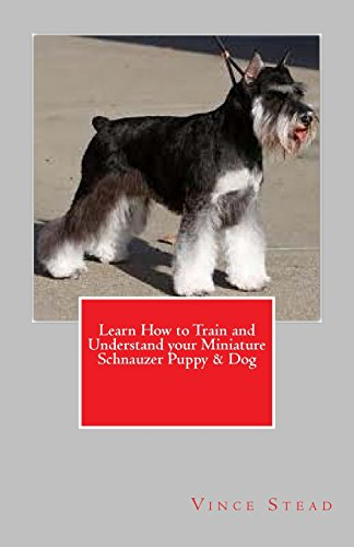 Learn How to Train and Understand Your Miniature Schnauzer Puppy & Dog By Vince Stead
