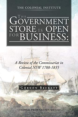 The Government Store Is Open for Business By Gordon Beckett