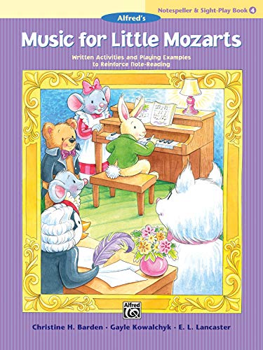 Music for Little Mozarts By Christine H Barden