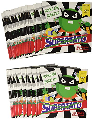 Supertato Books Are Rubbish X50 Pack (World Book Day 2020) By Paul (Ills) Linnet
