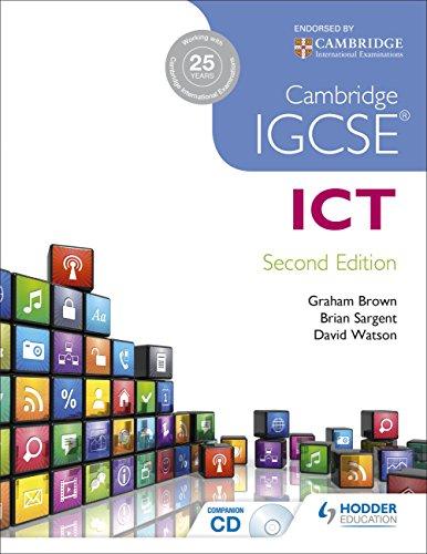 Cambridge IGCSE ICT 2nd Edition von Brian Sargent