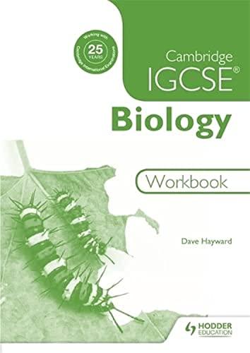Cambridge IGCSE Biology Workbook 2nd Edition By Dave Hayward