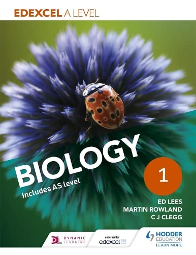 Edexcel A Level Biology Student Book 1 By Ed Lees