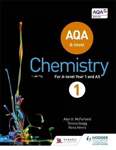 AQA A Level Chemistry Student Book 1 (AQA A level Science) By Alyn G. McFarland