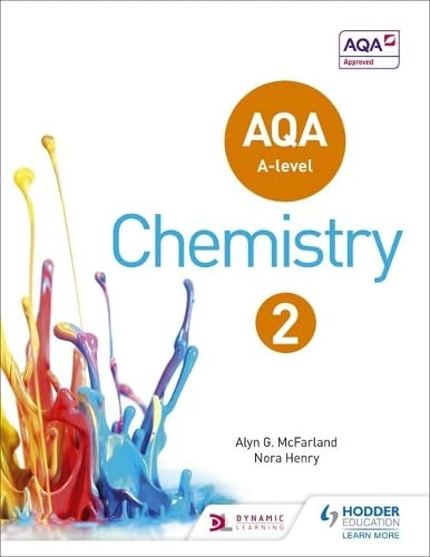 AQA A Level Chemistry Student Book 2 (AQA A level Science) By Alyn G. McFarland