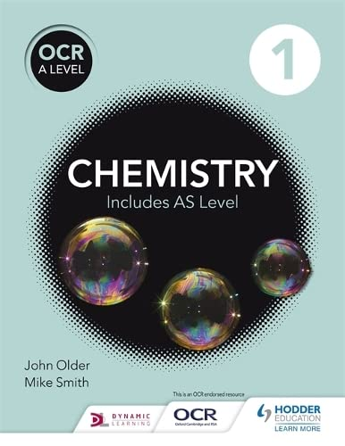 OCR A level Chemistry Student Book 1 By Mike Smith
