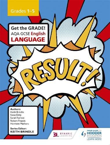 AQA GCSE English Language Grades 1-5 Student Book By Keith Brindle