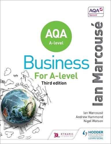 AQA Business for A Level (Marcouse) By Ian Marcouse