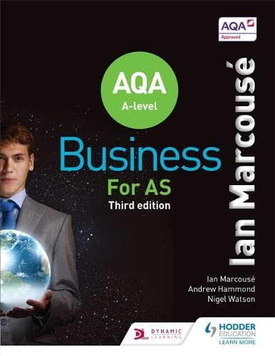 AQA Business for AS (Marcouse) By Ian Marcouse