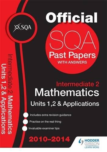 SQA Past Papers 2014-2015 Intermediate 2 Maths Units 1, 2 & Applications By SQA