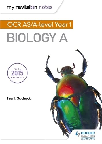 My Revision Notes: OCR AS Biology A Second Edition By Frank Sochacki