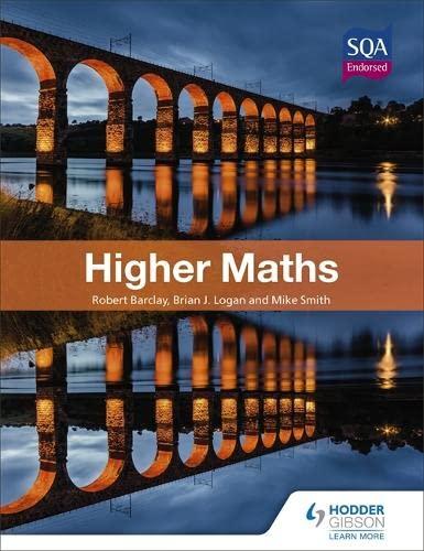 Higher Maths (Eurostars) By Bob Barclay
