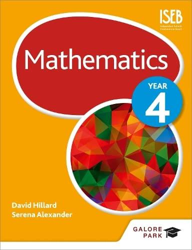 Mathematics Year 4 von David Hillard