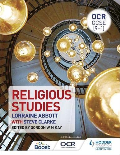 OCR GCSE (9-1) Religious Studies By Lorraine Abbott
