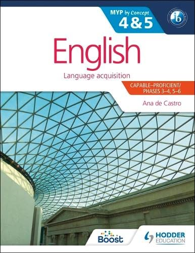 English for the IB MYP 4 & 5 By Ana de Castro