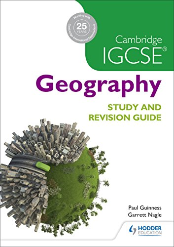 Cambridge IGCSE Geography Study and Revision Guide von David Watson