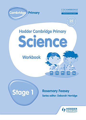 Hodder Cambridge Primary Science Workbook 1 By Rosemary Feasey