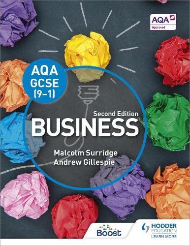 AQA GCSE (9-1) Business, Second Edition By Malcolm Surridge