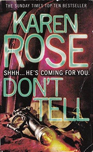 Don T Tell P By Rose  Karen