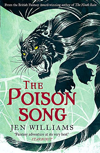 The Poison Song  (The Winnowing Flame Trilogy 3) By Jen Williams