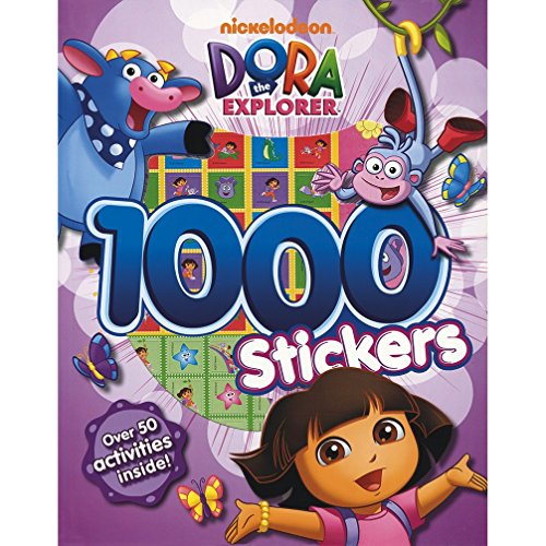 Dora The Explorer 1000 Stickers