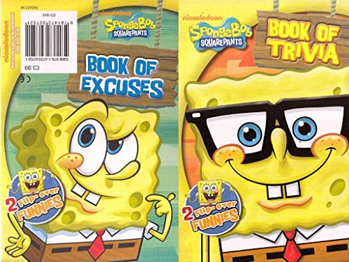 Spongebob Squarepants Book Of Excuses/Trivia Book By Nickelodeon