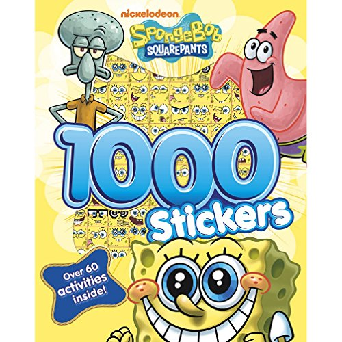 Spongebob Squarepants 1000 Stickers (Spongebob Squarepants Act... by Nickelodeon