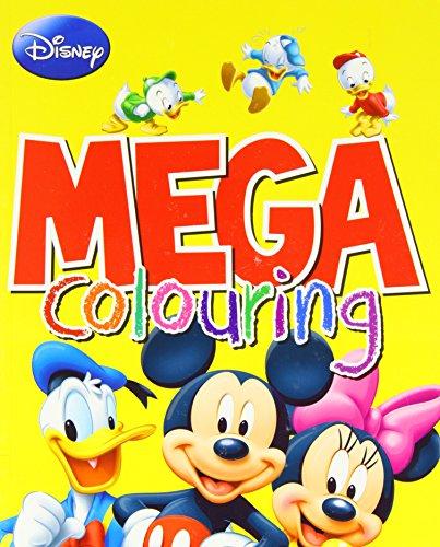 Disney Mickey Mouse & Co Mega Colouring By Parragon Books Ltd