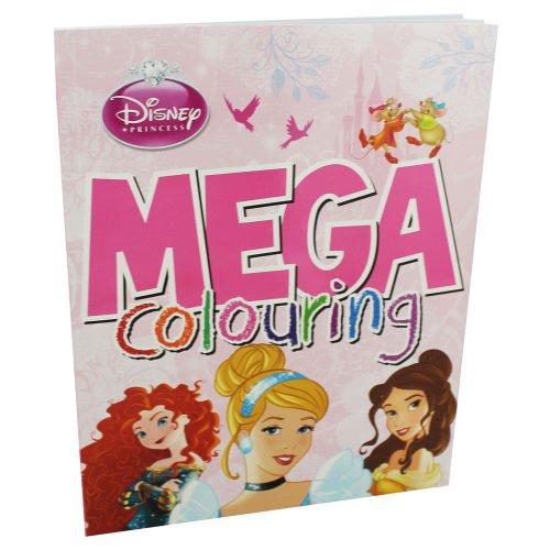 Disney Princess Mega Colouring by