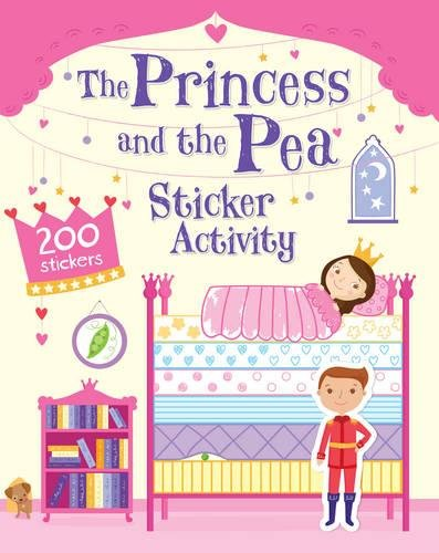 The Princess and the Pea Sticker Activity By Cath Ard