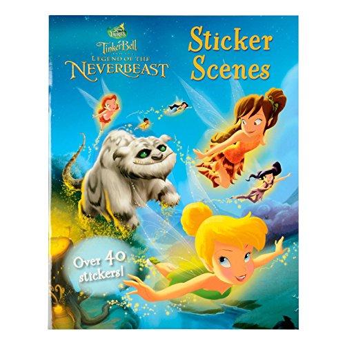 Legend of the Neverbeast Sticker Scenes (Disney Fairies Tinker Bell) By Parragon