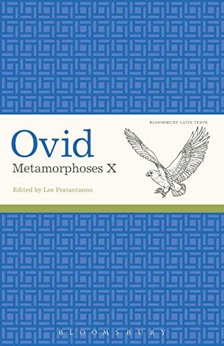Ovid, Metamorphoses X (Latin Texts) By Ovid