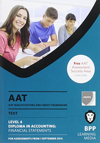 AAT Financial Statements By BPP Learning Media