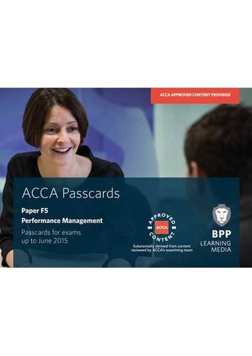 ACCA - F5 Performance Management By BPP Learning Media