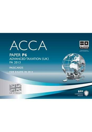 ACCA P6 Advanced Taxation FA2013 By BPP Learning Media