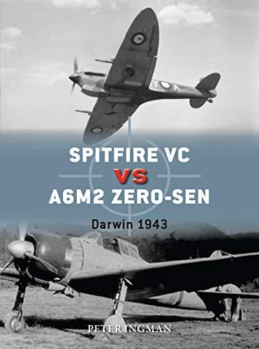 Spitfire VC vs A6M2/3 Zero-sen By Peter Ingman