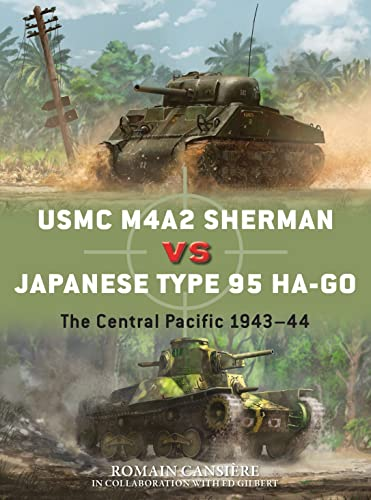 USMC M4A2 Sherman vs Japanese Type 95 Ha-Go By Romain Cansiere