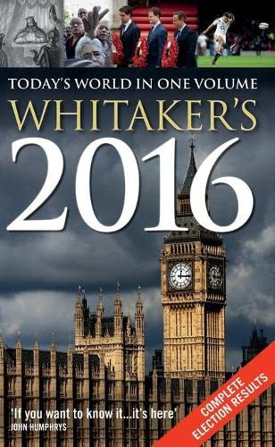 Whitaker's 2016 By Bloomsbury