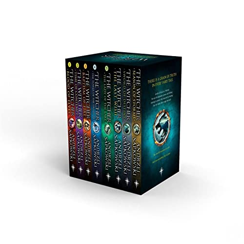 The Witcher Boxed Set By Andrzej Sapkowski
