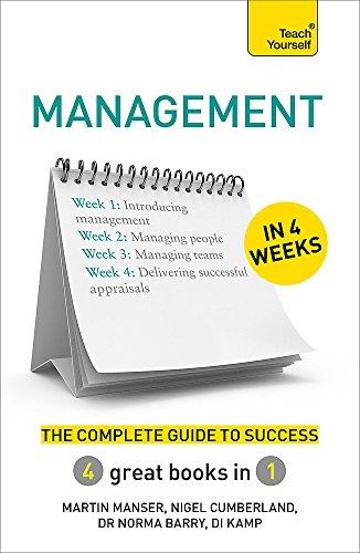 Management in 4 Weeks By Martin Manser