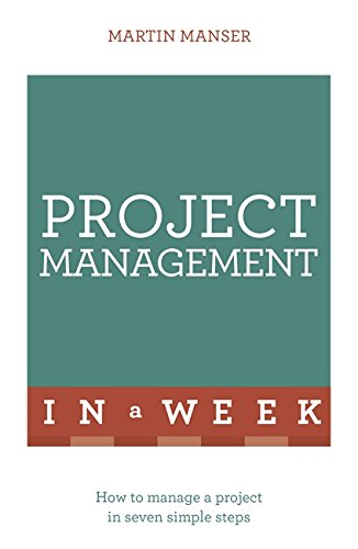 Project Management In A Week By Martin Manser