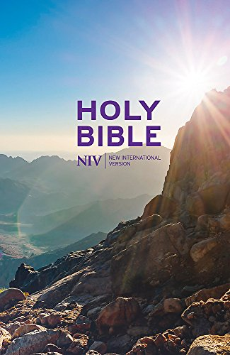 NIV Thinline Value Hardback Bible (New International Version) By New International Version