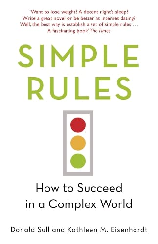 Simple Rules By Kathleen Eisenhardt