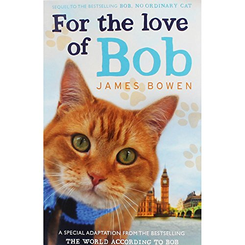 Hodder and Stoughton Ltd For The Love Of Bob Book The Cheap Fast Free Post