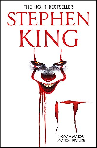 It: The classic book from Stephen King with a new film tie-in cover to IT: CHAPTER 2, due for release September 2019 By Stephen King